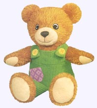 10 in. Plush Corduroy Bear
