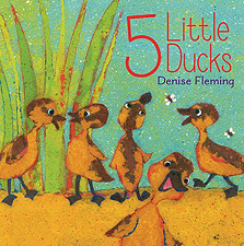 5 Little Ducks Hardcover Picture Book