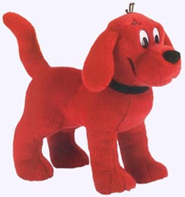 14 in.Standing Clifford Plush Storybook Character
