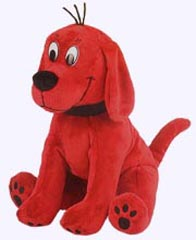 12 in. Sitting Clifford Plush Storybook Character