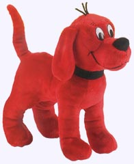 12 in. Standing Clifford Plush Storybook Character