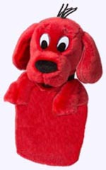 11 in. Clifford Hand Puppet
