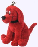 8 in. Sitting Clifford Plush Storybook Character