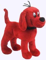 8 in. Standing Clifford Plush Storybook Character