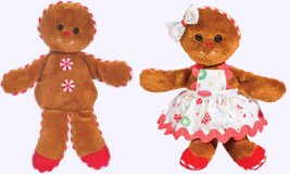 8 in. Gingerbread Dolls