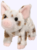 7 in. Brown Spotted Pig Pluwh