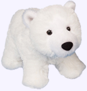 11 in. Polar Bear Plush