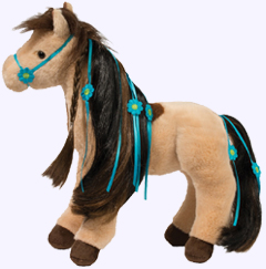 12 in. Princess Horse Plush