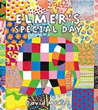 Elmer's Special Day Picture Book