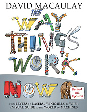 How Things Work Now Hardcover Illustrated Book