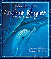 Ancient Rhymes - A Dolphin Lullaby Hardcover Picture Book with CD