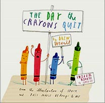 The Day the Crayons Quit Hardcover Picture Story Book