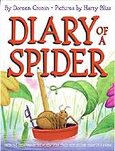 Diary of a Spider Hardcover Picture Book