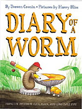 Diary of a Worm Hardcover Picture Book