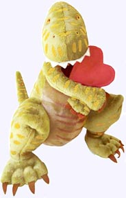14 in. Say I Love You Dinosaur Plush