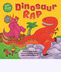 Dinosaur Rap Hardcover Picture Book