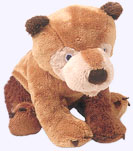 7 in. Brown Bear Plush