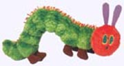 9.5 in. Very Hungry Caterpillar Plush Toy