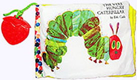 Very Hungry Caterpillar Soft Book Front