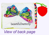 Very Hungry Caterpillar Soft Book Back
