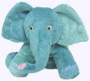 7 in. Elephant Plush Doll
