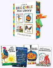 Four Mini Hardcover Picture Books