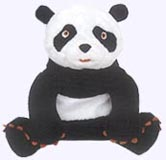 7 in. Panda Plush Doll