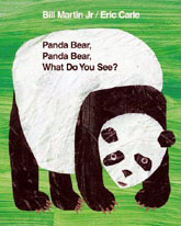Panda Bear, Panda Bear, What Do You See? Hardcover Picture Book