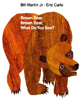Brown Bear, What Do You See Hardcover Picture Book