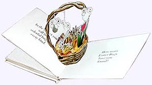 Pop-up image from the Easter Bugs Picture Book