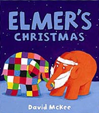 Elmer's Christmas Hadcover Picture Book