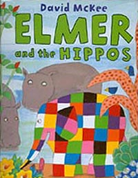 Elmer and the Hippos Hardcover Pictue Book