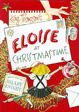 Eloise at Christmastime hardcover Picture Storybook