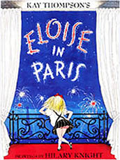 Eloise in Paris Hadcover Picture Storybook