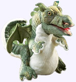 8.5 in. Baby Dragon Full Body Puppet