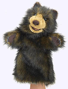 15 in. Plush Bear Stage Puppet