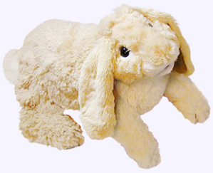 17 in. Floppy Bunny Puppet