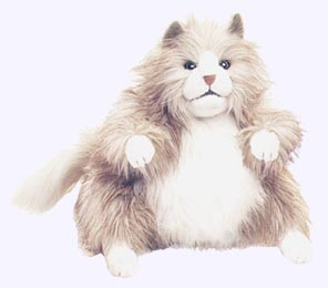 12 in. Fluffy Cat Puppet