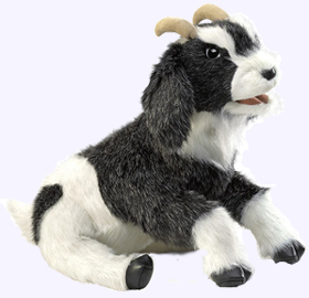 14 in. Goat Hand Puppet
