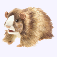 10 in. Guinea Pig Hand Puppet