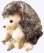 8 in. Plump Hedgehog Hand Puppet