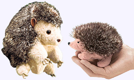 8 in. Hedgehog Puppet