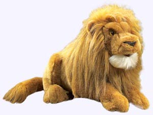 16 in. Lion Hand Puppet