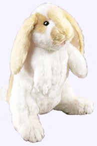 12 in. Standing Lop Ear Rabbit Puppet