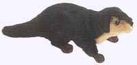 10 in. River Otter Finger Puppet