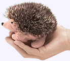 20 in. Hedgehog Finger Puppet