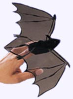 10 in. Wing span Bat Finger Puppet