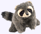8 in. Raccoon Baby Puppet