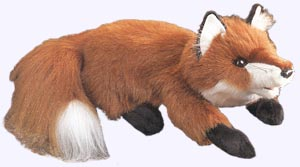 15 in. Red Fox Hand Puppet