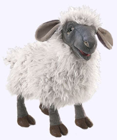 13 in. Bleating Sheep Puppet
